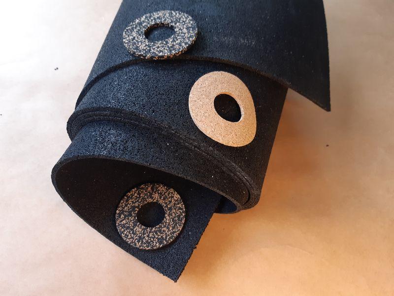 Płyty zgranulatu gumowego